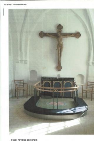 Søllested Kirke, 1992