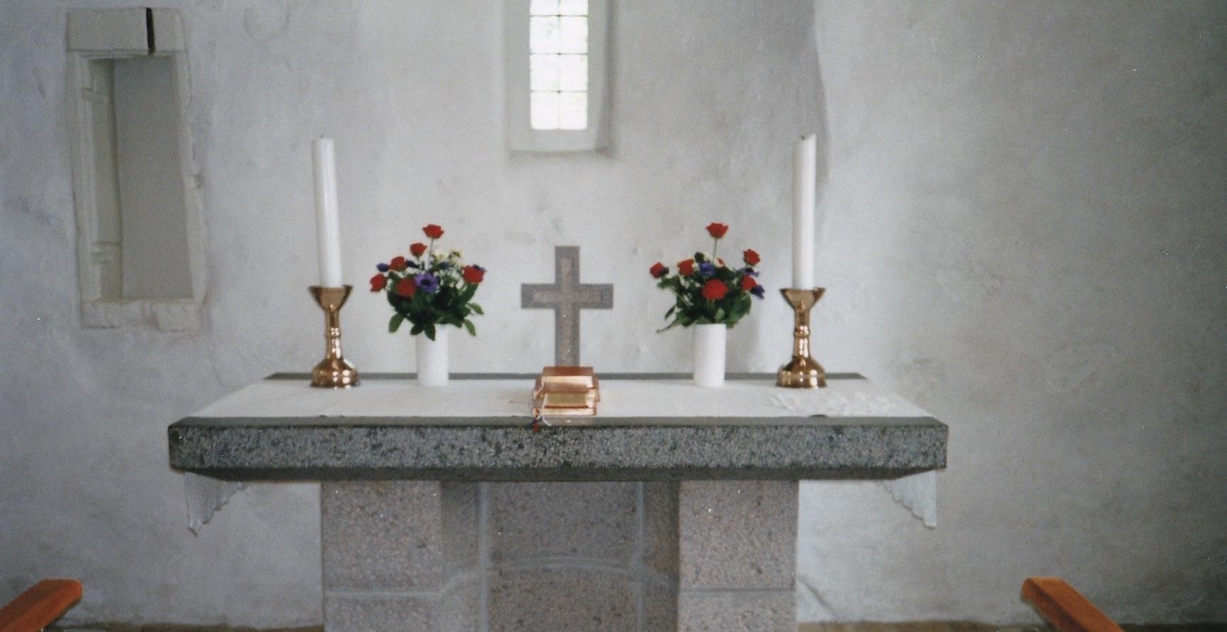 Sandager Kirkes kors, 1995