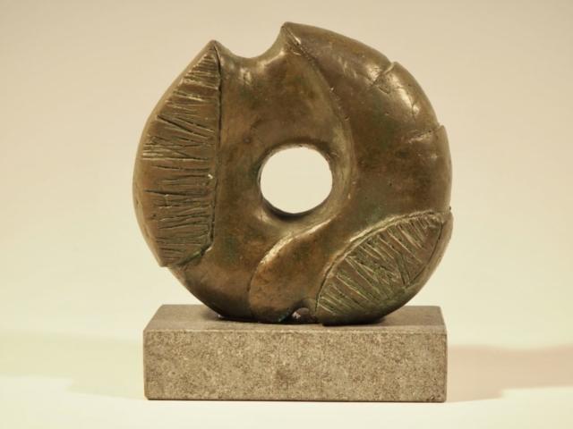 Livshjul II, Bronze, 12.5x13x4 cm, Pris 14.000 Kr.