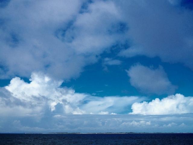 Flot himmel over Bogø