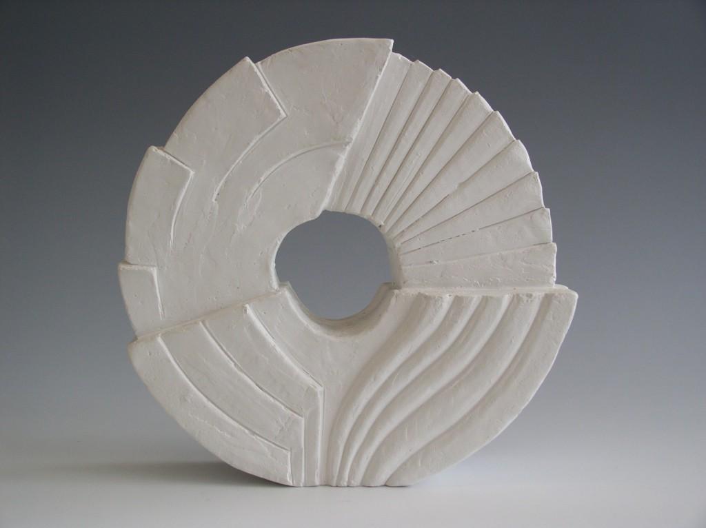 Gips model, 20x20x6 cm, Pris 3.000,- kr.