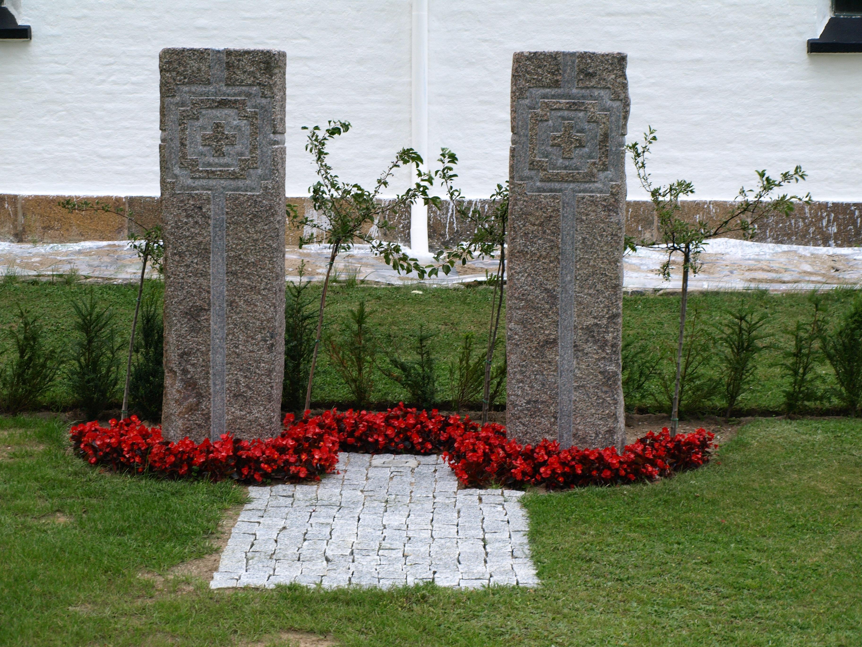 Udsmykning ved Hårby kirke, 2009